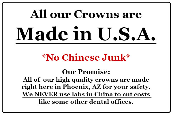 Crowns made in USA